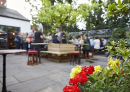 Pub Garden In Worthing