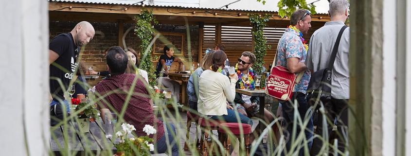 Pub Garden In Worthing